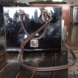 Dooney & Bourke brown leather handbag